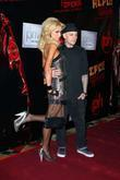 Paris Hilton and Benji Madden Lionsgate Premiere of...