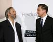 Sam Mendes and Leonardo DiCaprio