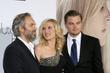 Sam Mendes, Kate Winslet and Leonardo DiCaprio The...