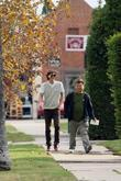Rex Lee and His New Boyfriend Take A Stroll In West Hollywood