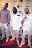 Dre, Rick Ross and Cool Rick Ross celebrates...