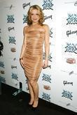 Amy Spanger wearing Yigal Azrouel 'Rock of Ages'...