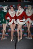 Radio City Rockettes Present Planet Hollywood Times Square With Two Costumes From The 'radio City Christmas Spectacular'