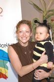 Judy Greer and her God Daughter