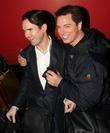 Jimmy Carr and John Barrowman