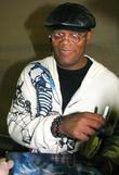 Samuel L Jackson, Smiles as he signs autographs...