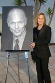 Amy Madigan Ed Harris receives the Santa Barbara...