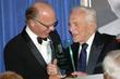 Ed Harris and Kirk Douglas
