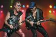 Rudolf Schenker and Matthias Jabs Rock group Scorpions...