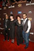 Ozzy Osbourne, Kelly Osbourne and Sharon Osbourne