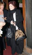 Sharon Osbourne leaving Madeos restaurant in West Hollywood...