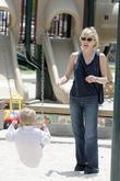 Sharon Stone and her son Roan Bronstein