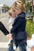 Sharon Stone and Son Roan Bronstein