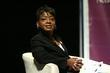 Moderator Tanisha Sykes hosted a financial talk called Set For Life: Your Fast Track To Financial Control, Washington Convention Center