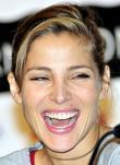 Elsa Pataky during a press conference at day...