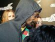 Snoop Dogg arrives at Neverland Nightclub for the...