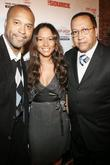 Londell McMillan, Valiesha Butterfield and Rv.Dr. Ben Chavis...