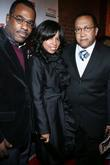 Phil Pabon, Mashonda and Rev. Benjamin Chavis Russell...