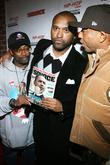 Spike Lee, Londell McMillan and Russell Simmons Russell...
