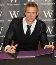 Mark Foster at a signing of the Strictly come dancing book at Waterstone's