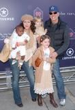 Joely Fisher and family