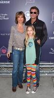 Lisa Rinna, Harry Hamlin and daughter