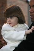 Suri Cruise Appears Delighted To Leave The House