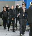 Mark Owen, Howard Donald, Jason Orange and Gary Barlow Leaving The Bbc Radio 2 Building