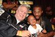 Promoter Gary Shaw poses with Chad Dawson