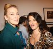 Jerry Hall and Tracy Emin