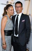 Moon Bloodgood and Jeffrey Donovan