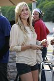 Kristin Cavallari shooting scenes for 'The Hills' at...