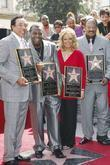 Leron Gubler, Berry Gordy, Mary Wilson, Smokey Robinson, Star On The Hollywood Walk Of Fame, Walk Of Fame