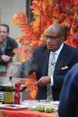 Al Roker shooting a segment of NBC's 'The...