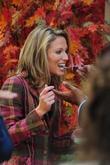 Amy Robach shooting a segment of NBC's 'The...