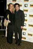 Christine Taylor and Ben Stiller at The Who's...