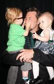 Dean McDermott, children Liam Aaron and Stella Doree