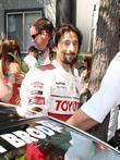 Adrien Brody The Toyota Pro/Celeb Race Day at...