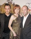 Robert Knepper, Natalya Rudakova and Jason Statham