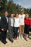 Andy Lipkis, Annette Bening, Wendy Greuel and Ed...