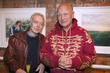 Nickolas Grace and Steven Berkoff