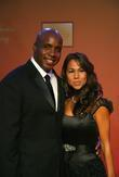Barry Bonds and his wife Liz Tyler Perry...