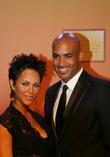 Nicole Ari Parker and husband actor Boris Kodjoe...