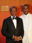 Sidney Poitier and Tyler Perry