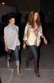 Janet Jackson and Tyra Banks