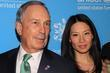 Michael Bloomberg and Lucy Liu