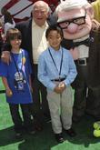 Ed Asner and Jordan Nagai