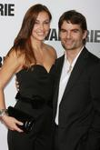 Ingrid Vandebosch, Jeff Gordon  New York Premiere...
