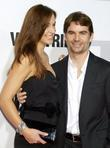 Ingrid Vandebosch and Jeff Gordon New York premiere...
