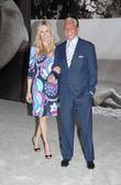 Alana Stewart and George Hamilton Private view of...